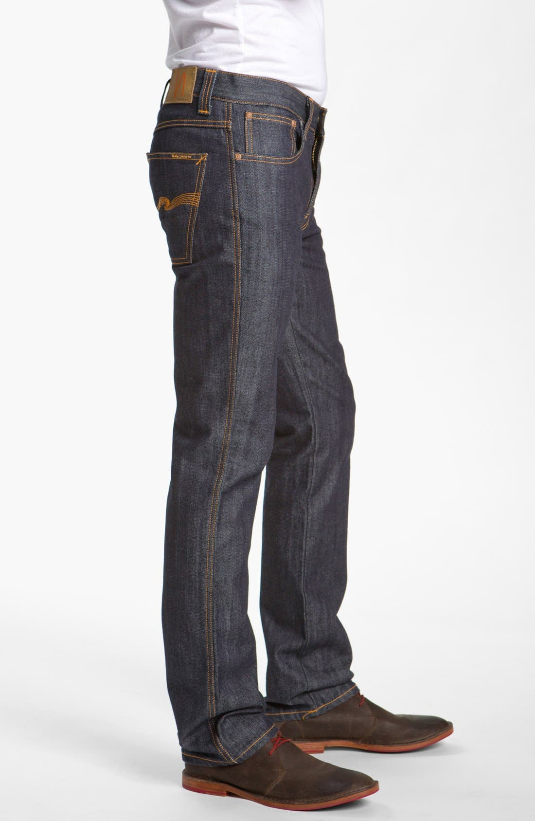 Alternate Image 3  - Nudie Jeans 'Slim Jim' Slim Fit Jeans (Organic Dry Broken Twill)