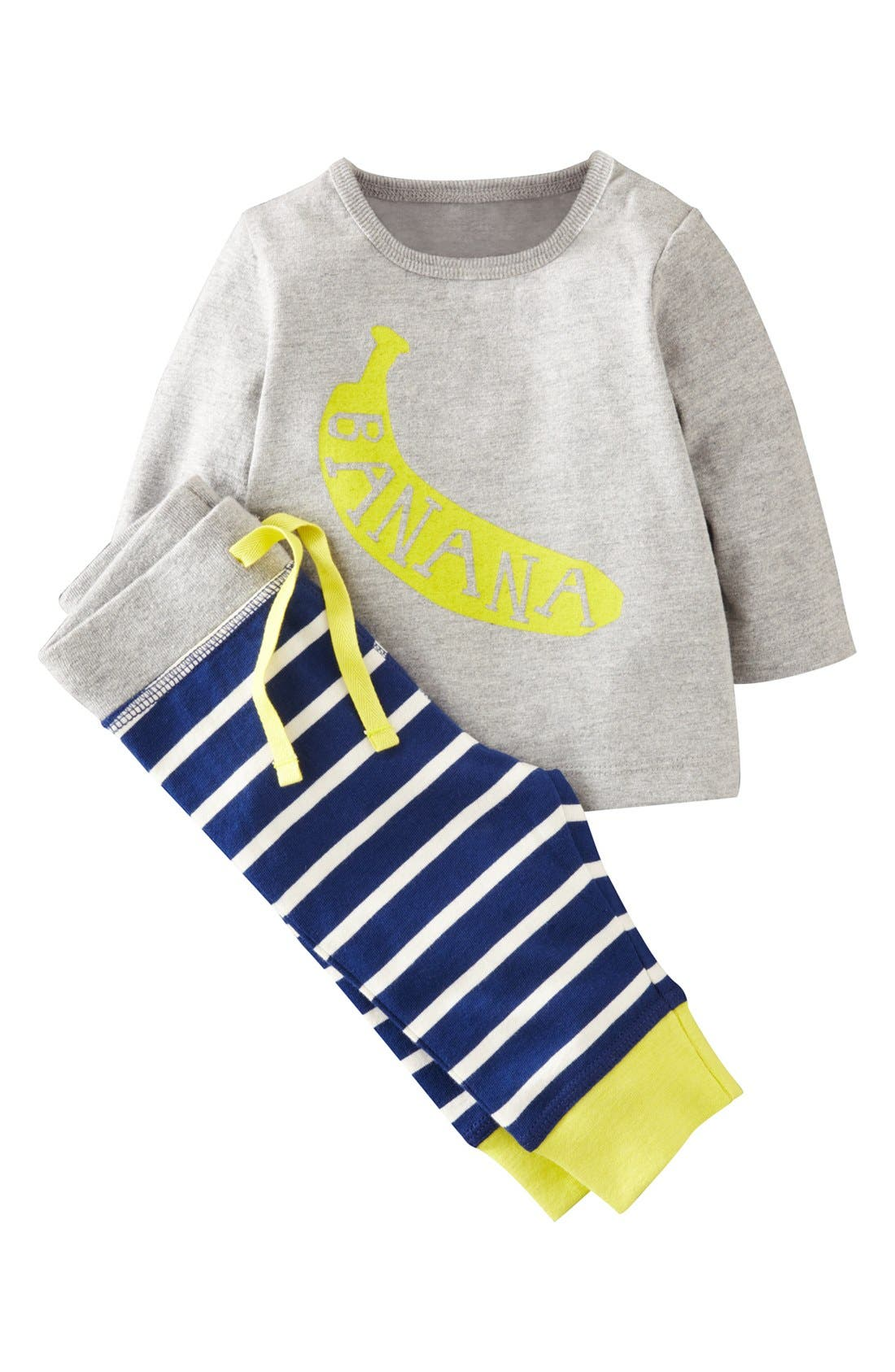 Main Image - Mini Boden Shirt & Leggings (Baby Boys)
