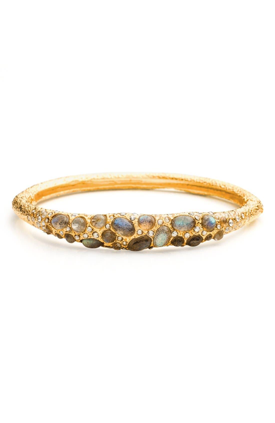 Alternate Image 1 Selected - Alexis Bittar 'Elements - Jardin de Papillon' Pavé Hinged Bracelet