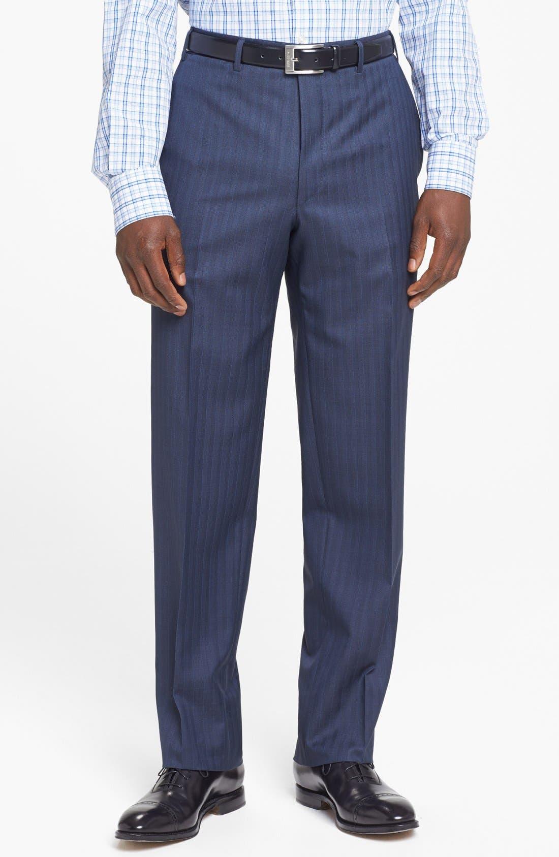 Alternate Image 4  - Canali Suit & BOSS HUGO BOSS Dress Shirt
