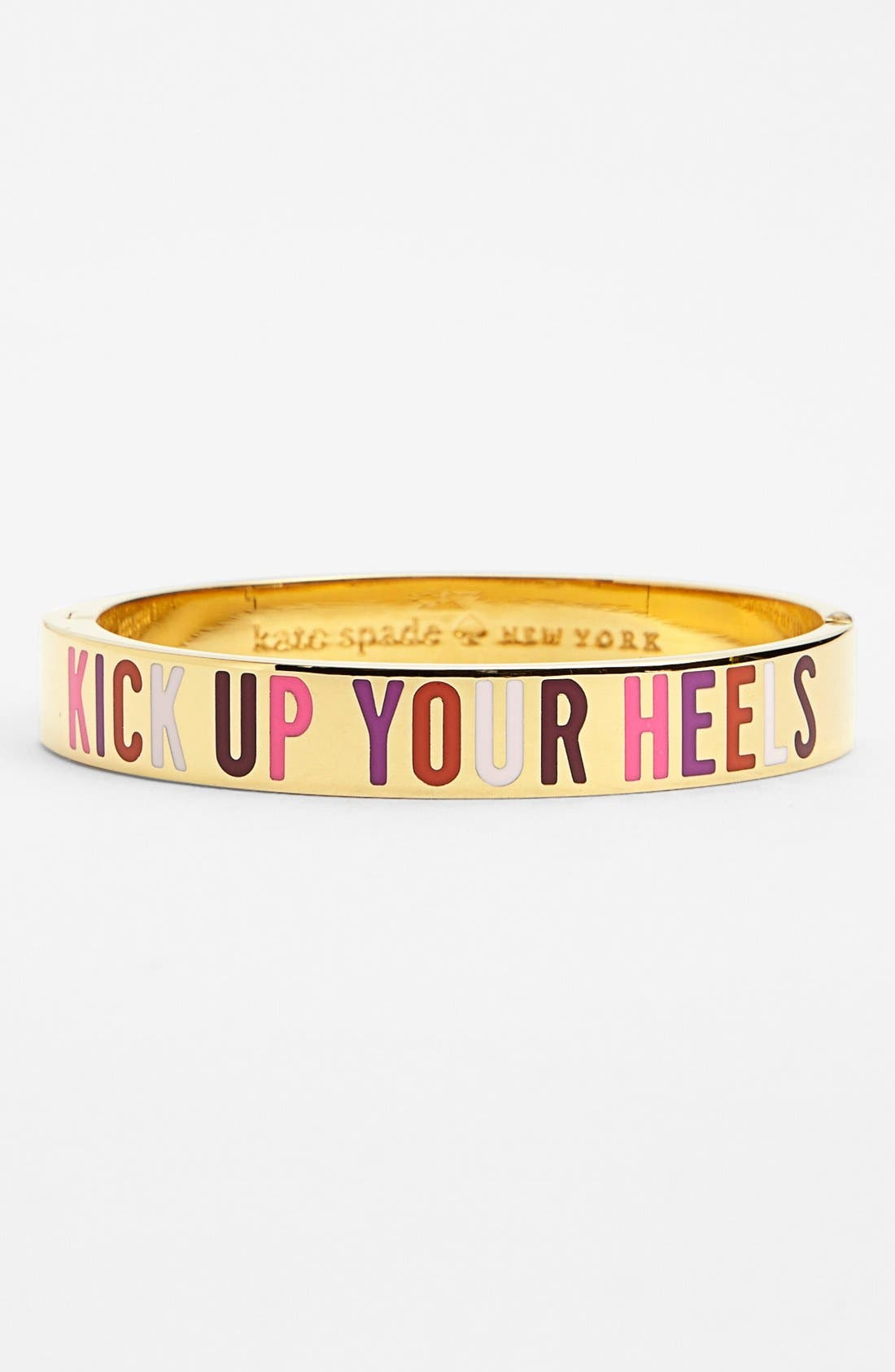 Alternate Image 1 Selected - kate spade new york 'idiom - kick up your heels' bangle