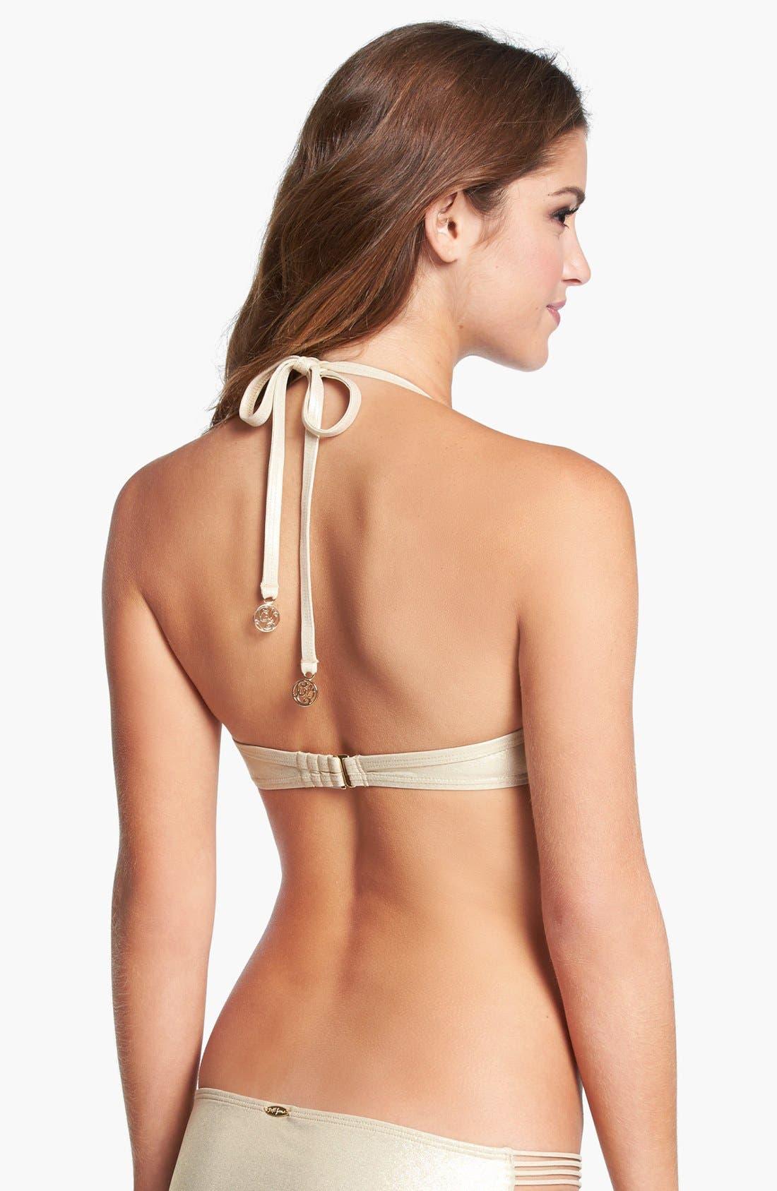 Alternate Image 2  - Luli Fama 'Burbujas de Amor' Push-Up Bikini Top