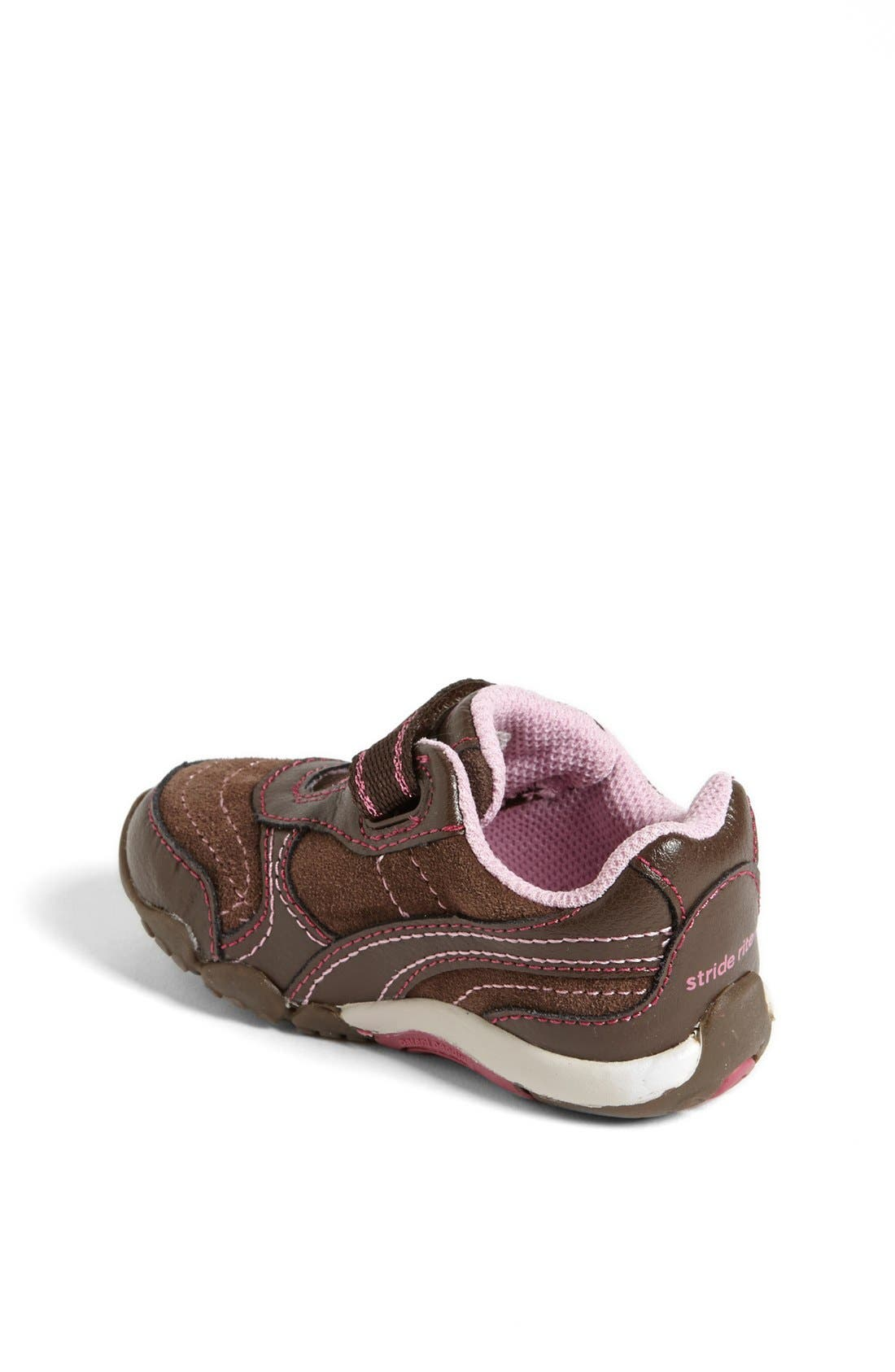 Alternate Image 2  - Stride Rite 'Lydia' Sneaker (Baby, Walker & Toddler)