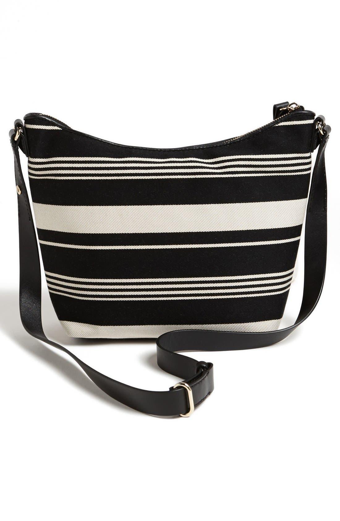 Alternate Image 4  - kate spade new york 'leroy street - stripe vivienne' satchel