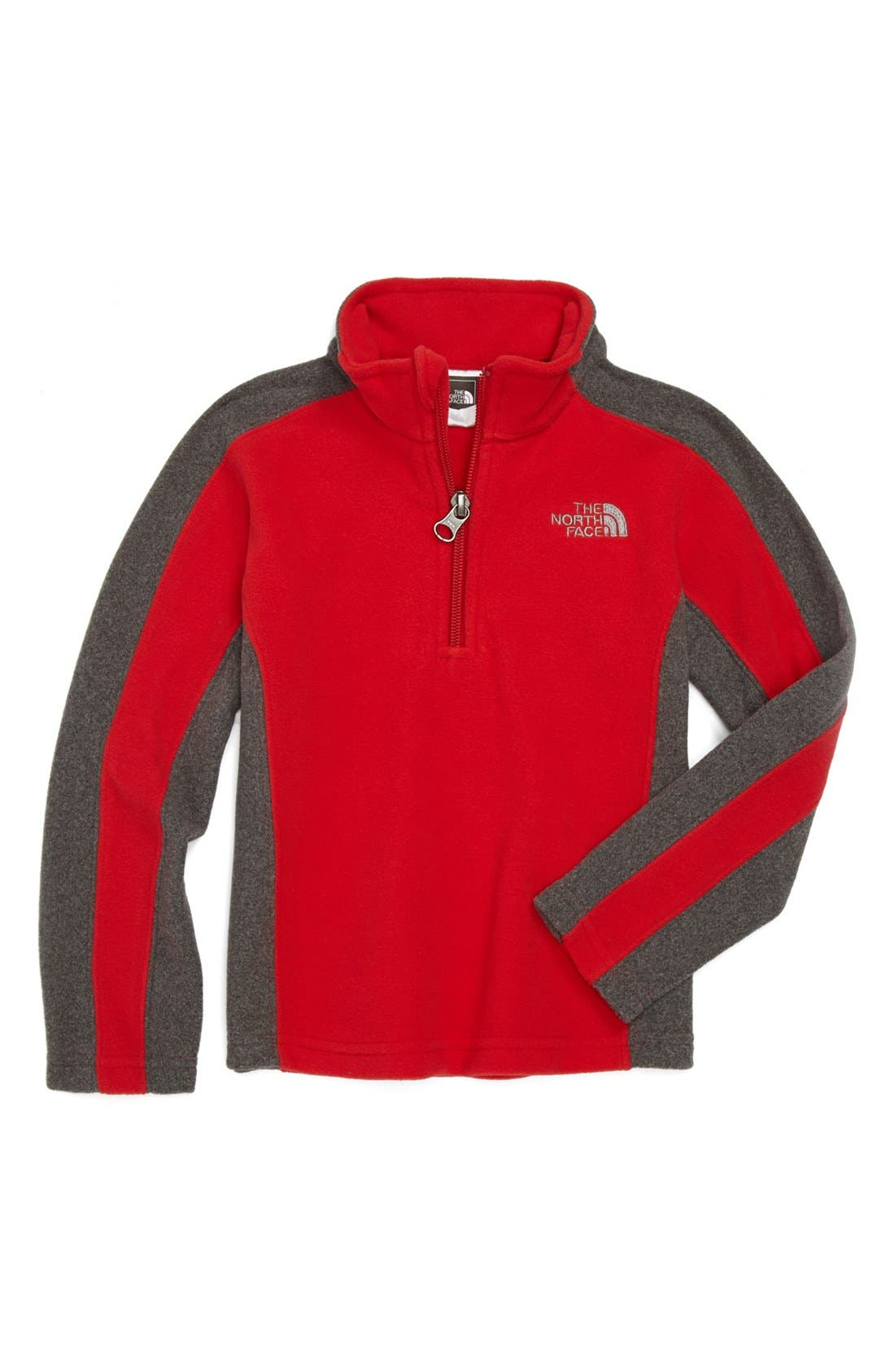 Alternate Image 1 Selected - The North Face 'Glacier' Quarter Zip Pullover (Toddler Boys)