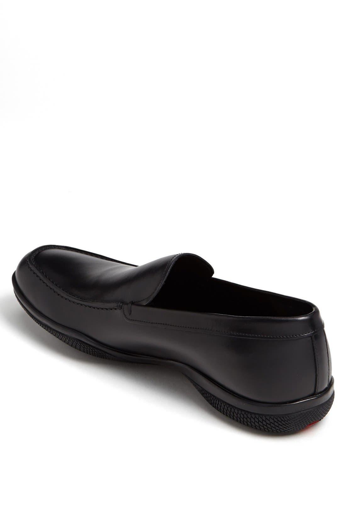Alternate Image 2  - Prada Leather Slip-On (Men)