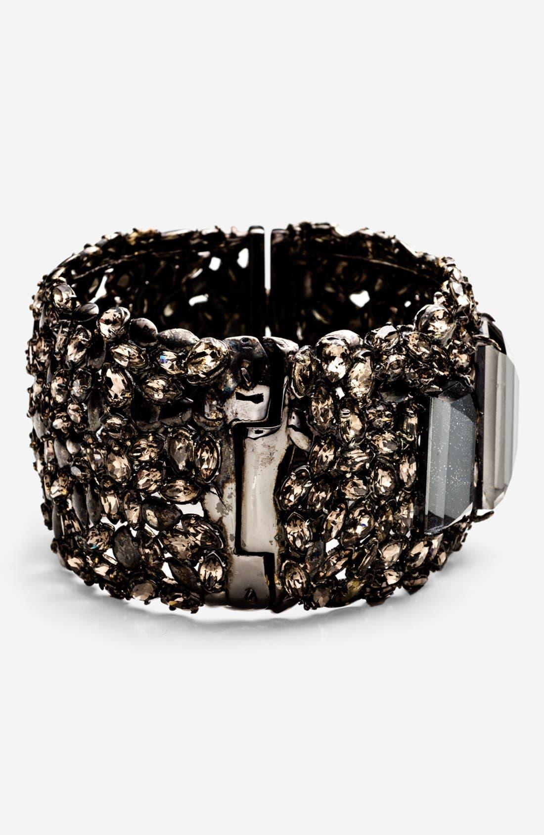Alternate Image 2  - Alexis Bittar 'Miss Havisham - Pavo' Hinged Bracelet