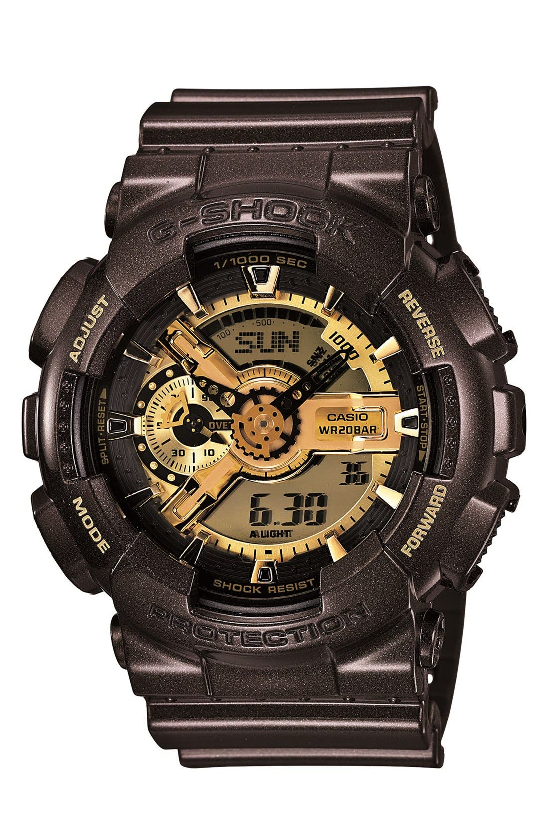Alternate Image 1 Selected - G-Shock 'X-Large Ana-Digi' Watch, 55mm