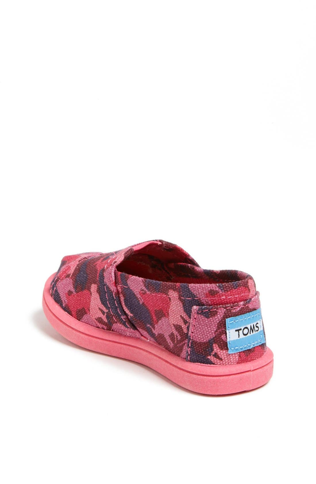 Alternate Image 2  - TOMS 'Classic Tiny - Animal Camo' Slip-On (Baby, Walker & Toddler)