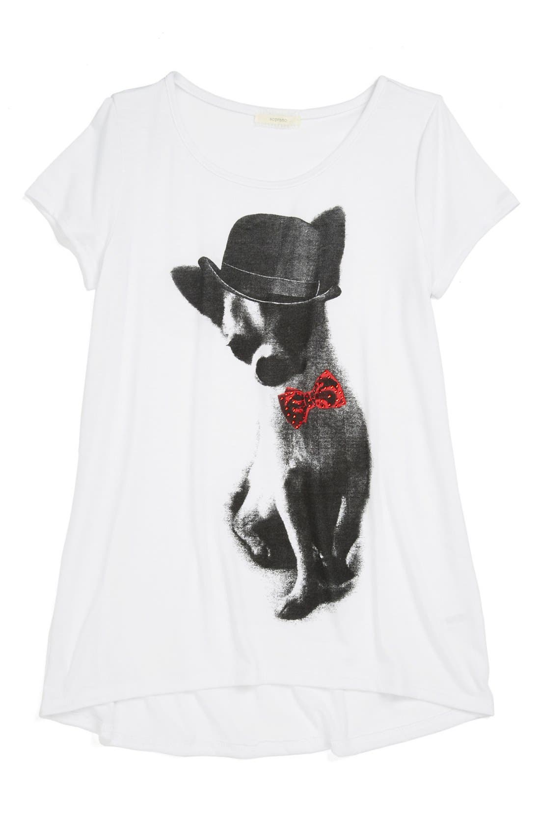 Main Image - Soprano Graphic Tee (Big Girls)