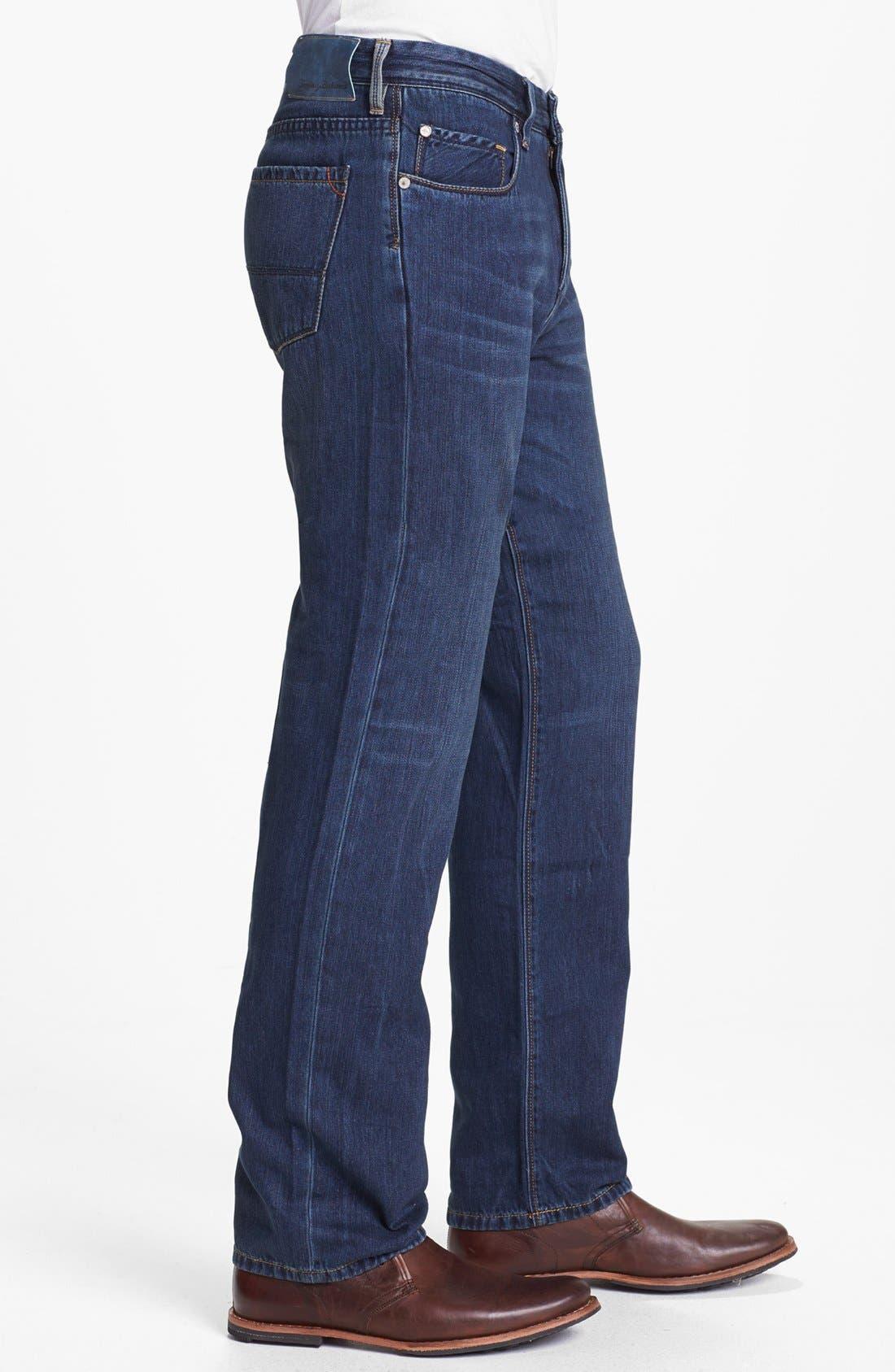Alternate Image 3  - Tommy Bahama Denim 'Coastal Island' Standard Fit Jeans (Dark Storm)