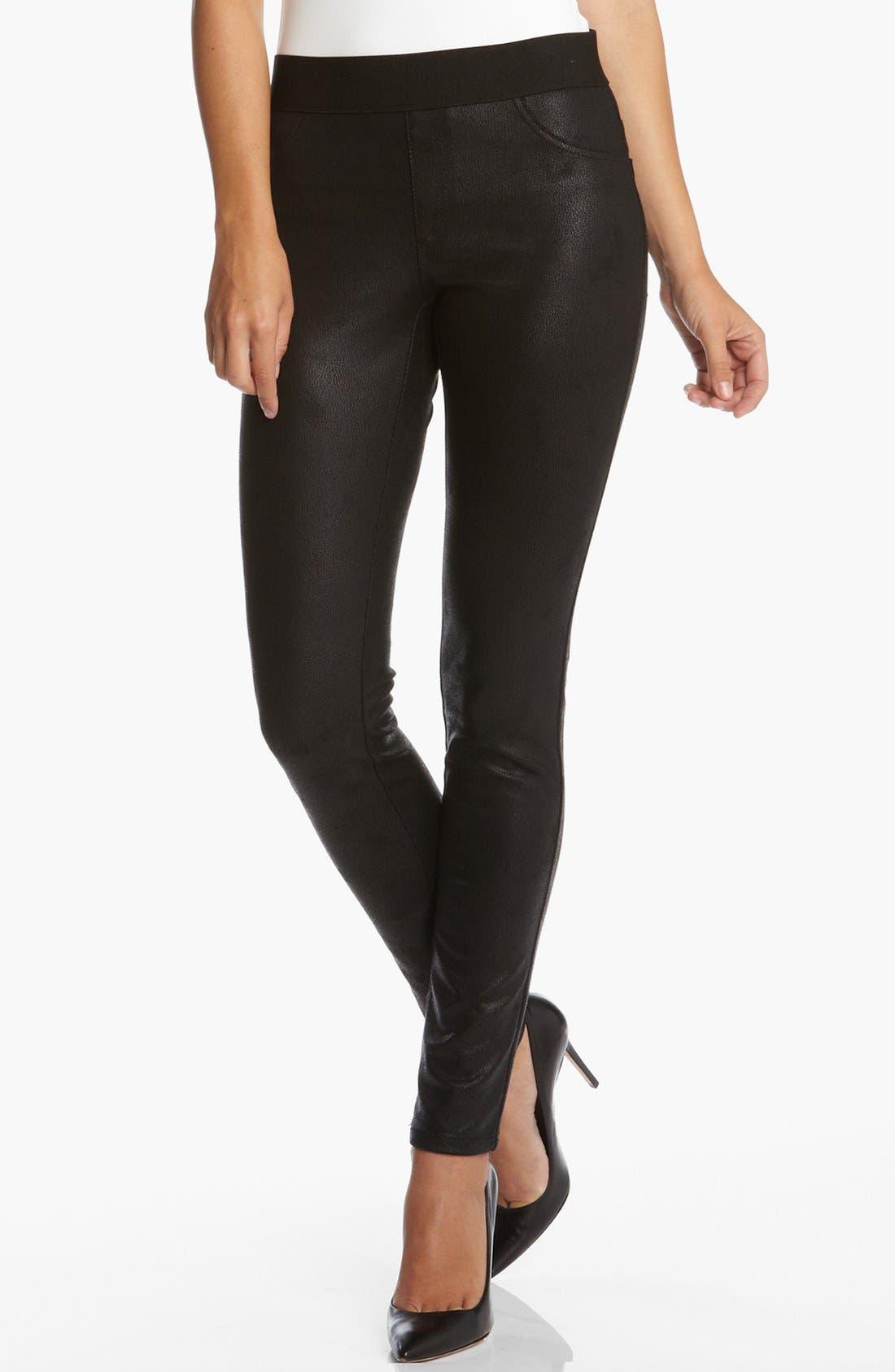 Alternate Image 1 Selected - Karen Kane Faux Leather Leggings