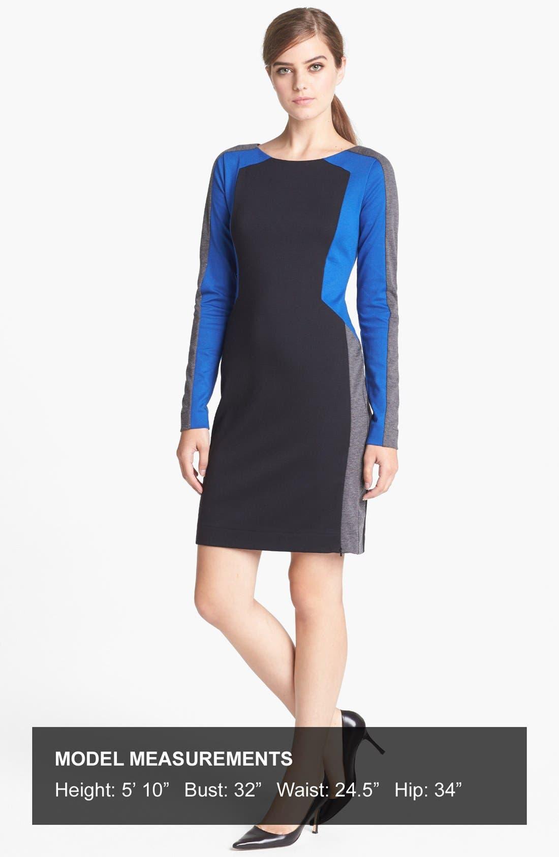 Alternate Image 4  - Trouvé Colorblock Sheath Dress