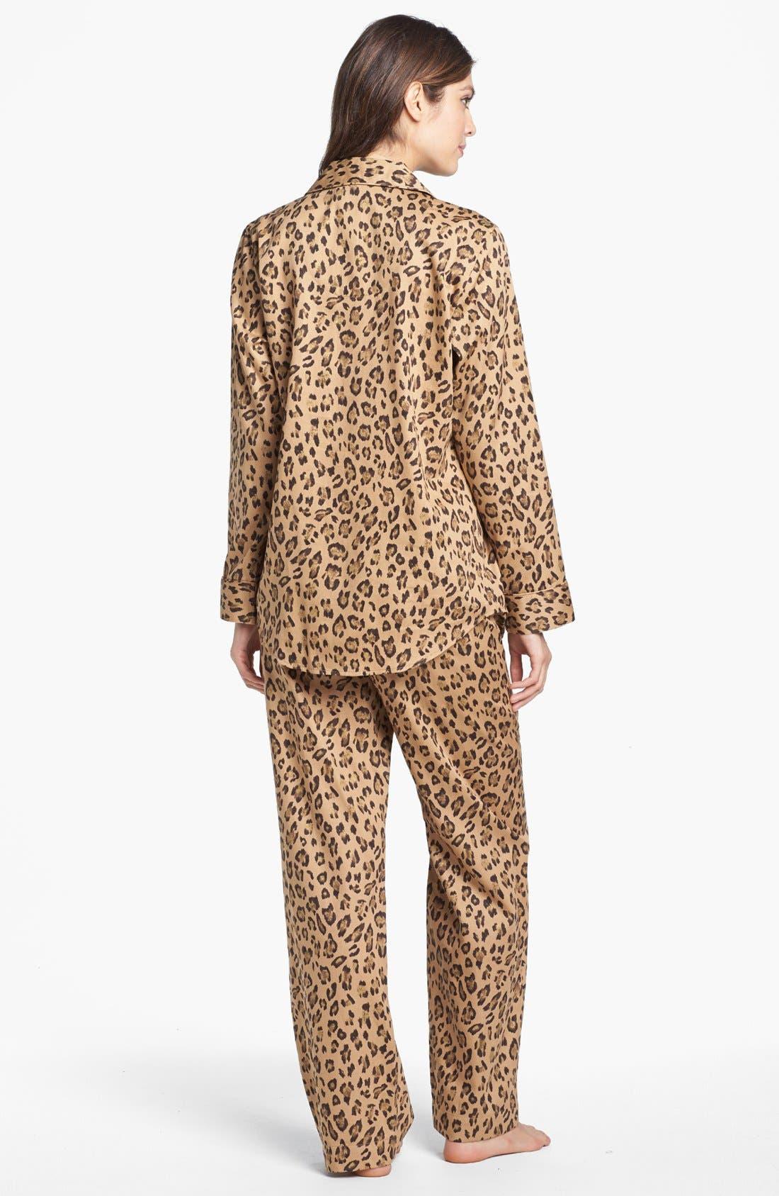 Alternate Image 2  - Lauren Ralph Lauren Sateen Pajamas