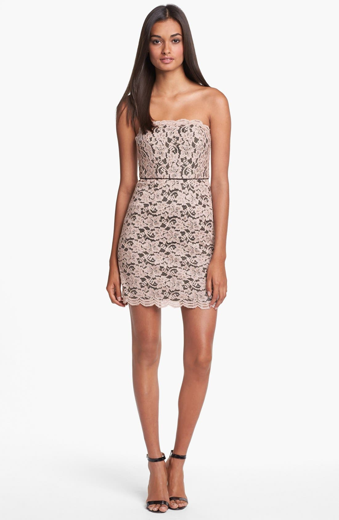 Alternate Image 1 Selected - Diane von Furstenberg 'Walker' Lace Tube Dress