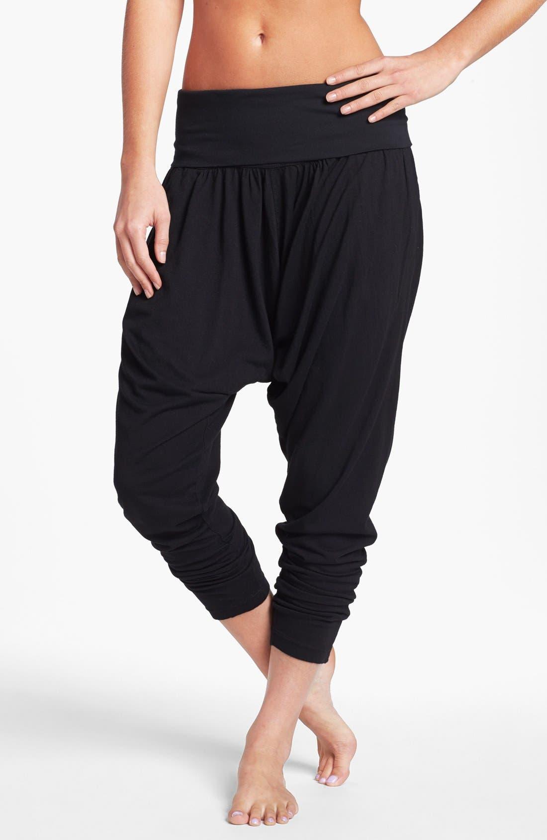 Main Image - Hard Tail Roll Waist Harem Pants