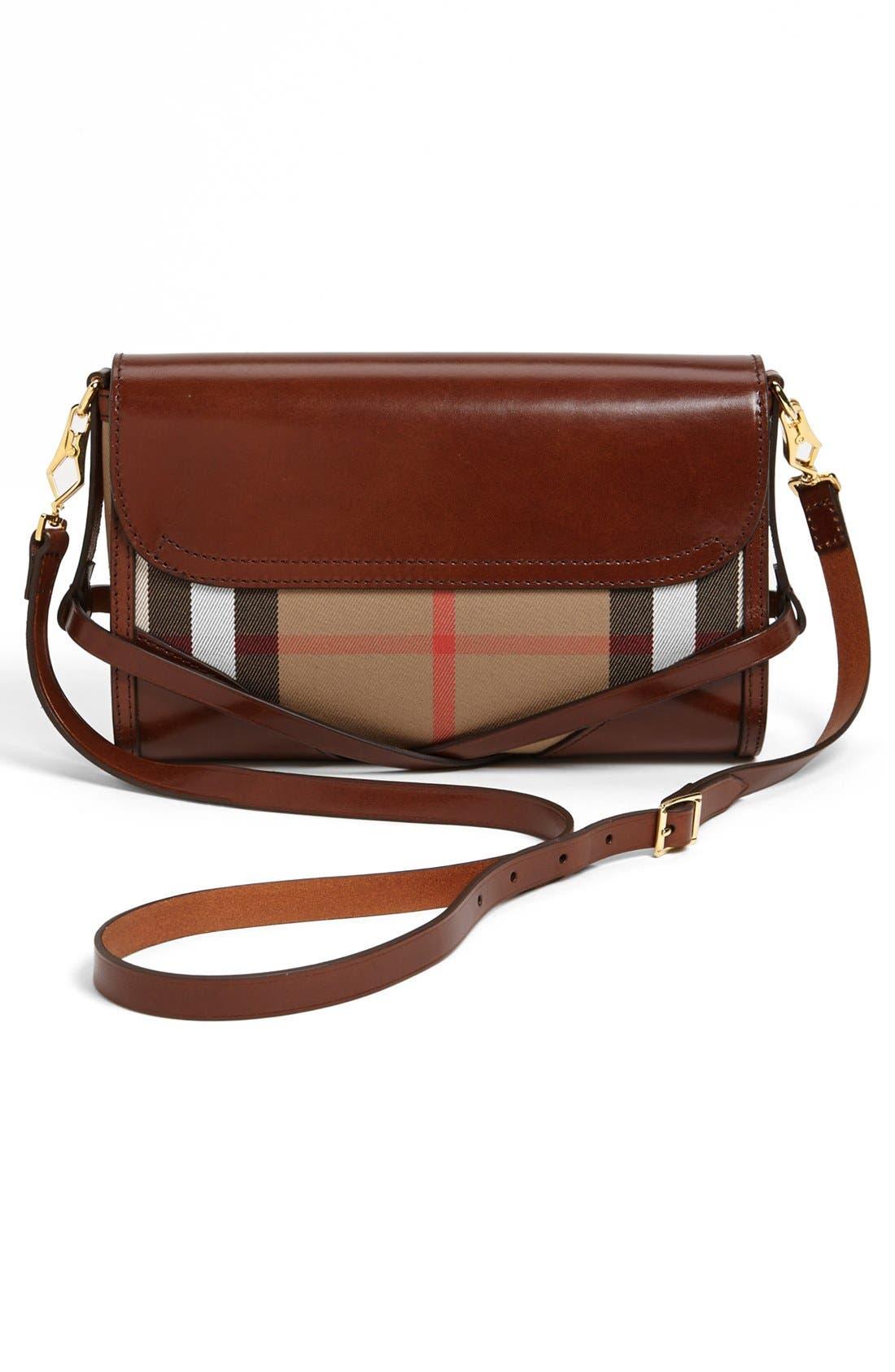 Alternate Image 4  - Burberry 'House Check' Crossbody Bag