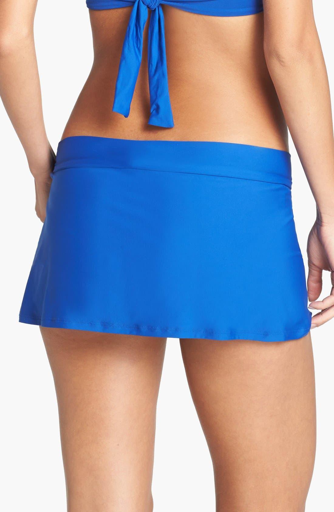Alternate Image 2  - Tommy Bahama Skirted Bikini Bottoms