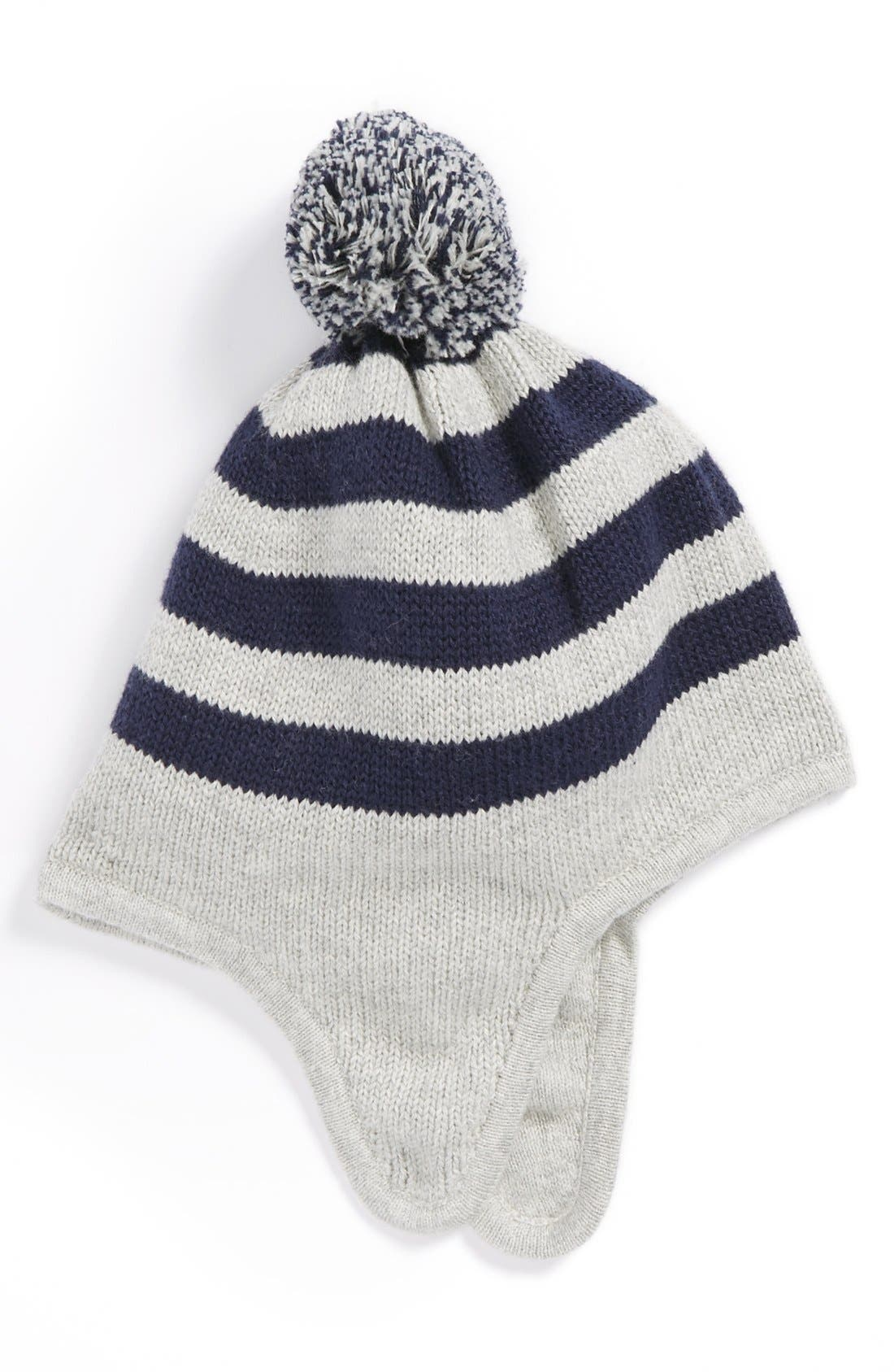 Main Image - Nordstrom Baby 'Stripey' Hat (Baby Boys)