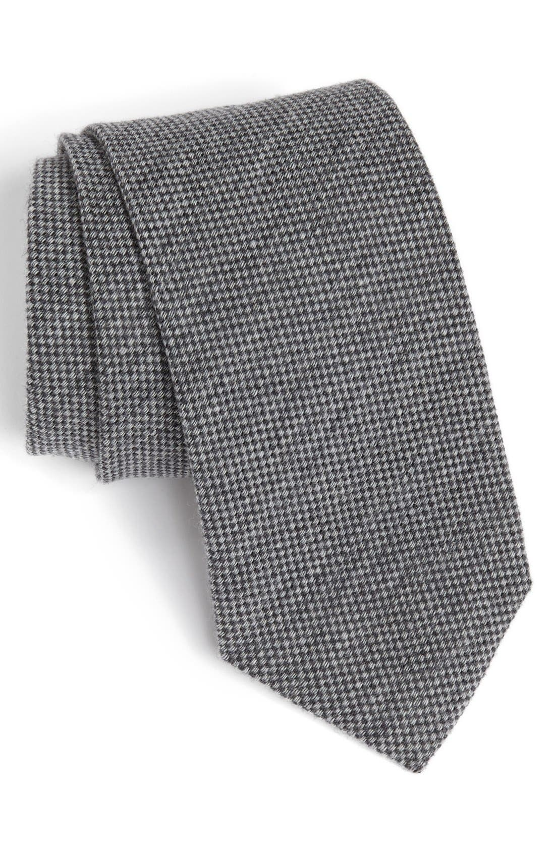 Alternate Image 1 Selected - John W. Nordstrom Woven Wool Tie