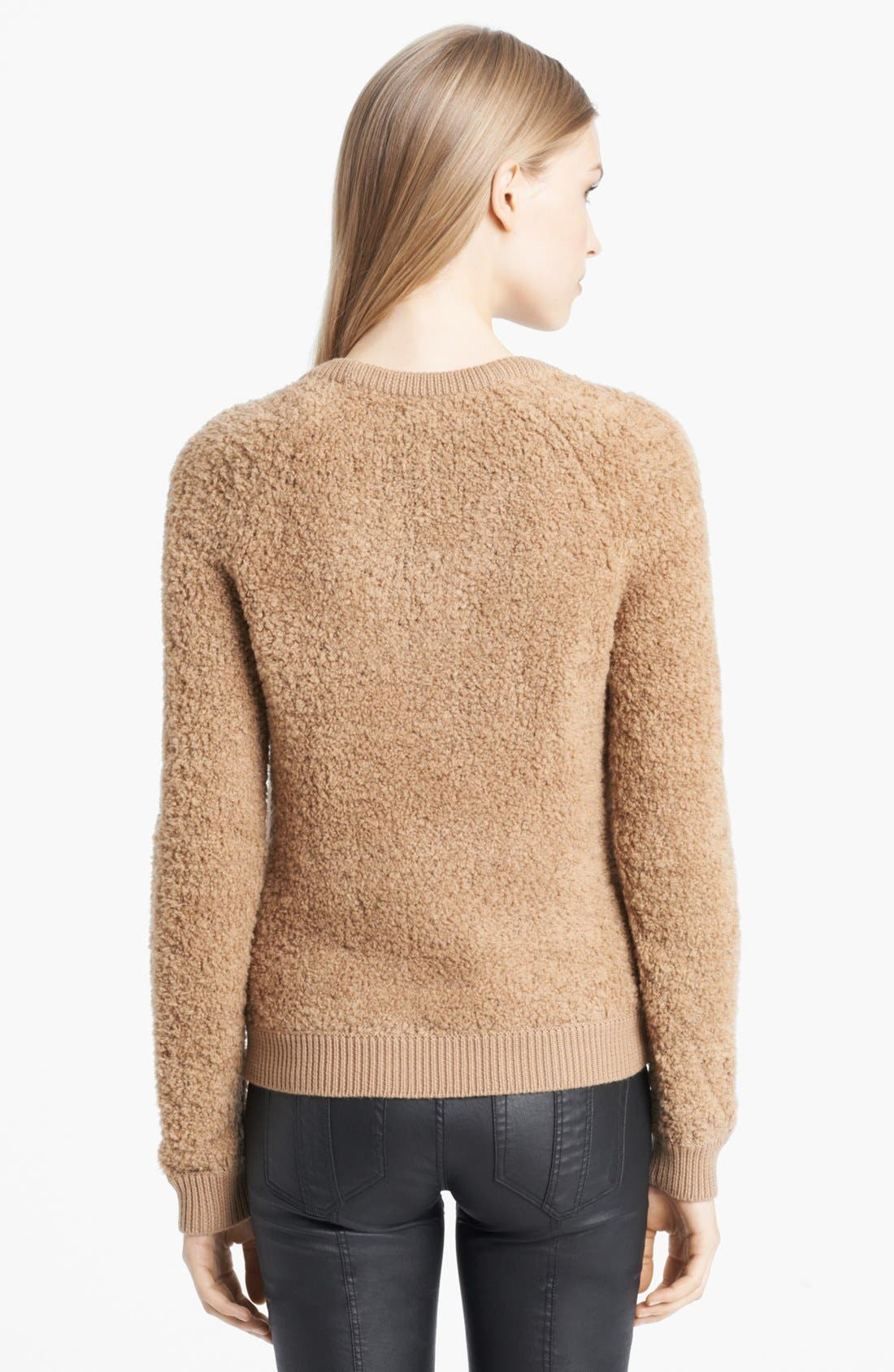 Alternate Image 2  - Burberry Brit Textured Merino Blend Sweater