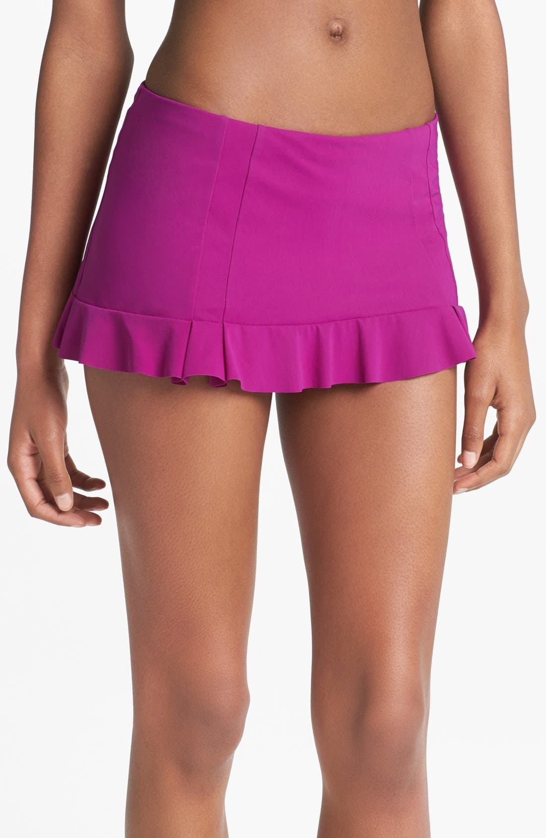 Main Image - Profile by Gottex 'Starlet' Skirted Bikini Bottoms