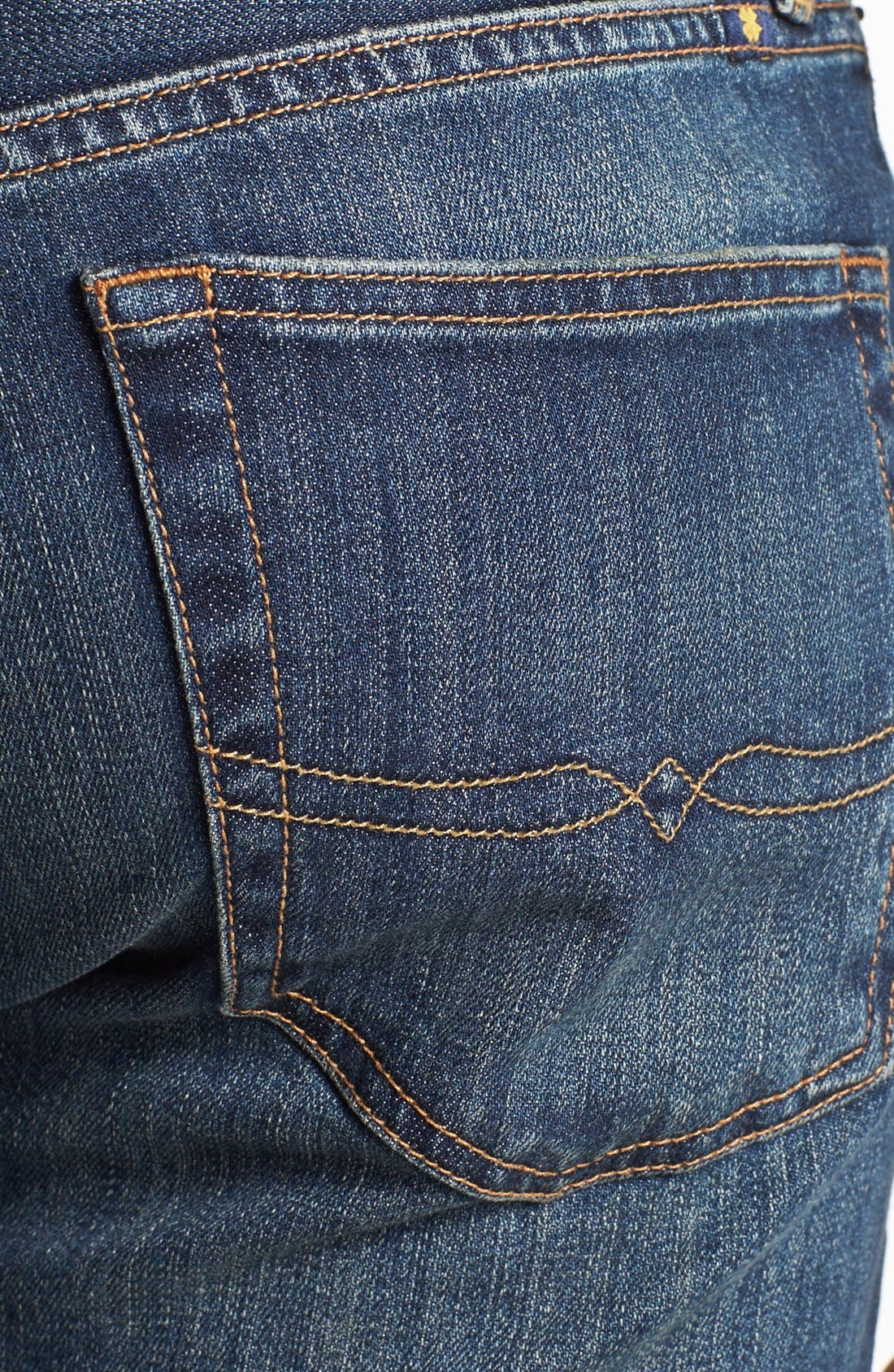 Alternate Image 4  - Lucky Brand '329 Classic' Straight Leg Jeans (Glacier)