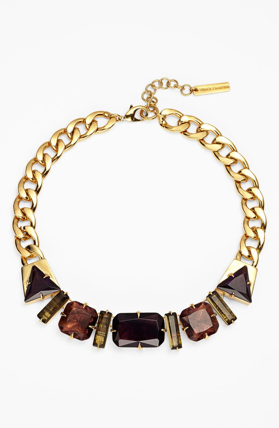 Alternate Image 1 Selected - Vince Camuto 'Jewel Purpose' Stone Link Collar Necklace