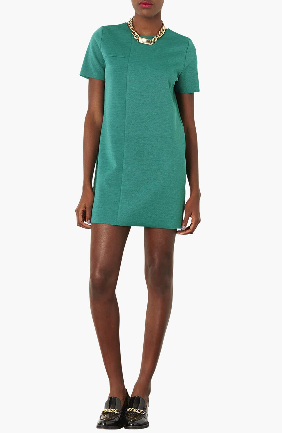 Alternate Image 1 Selected - Topshop Jersey Tunic Dress