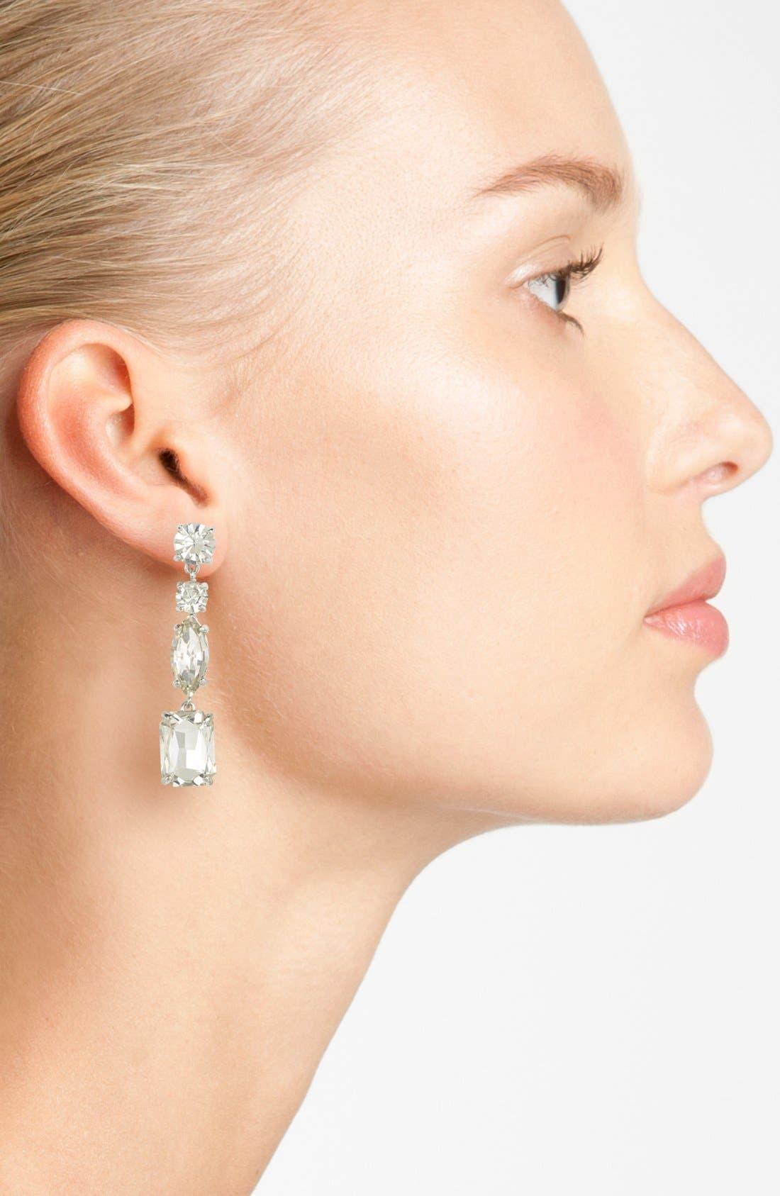 Alternate Image 2  - kate spade new york 'opening night' linear earrings