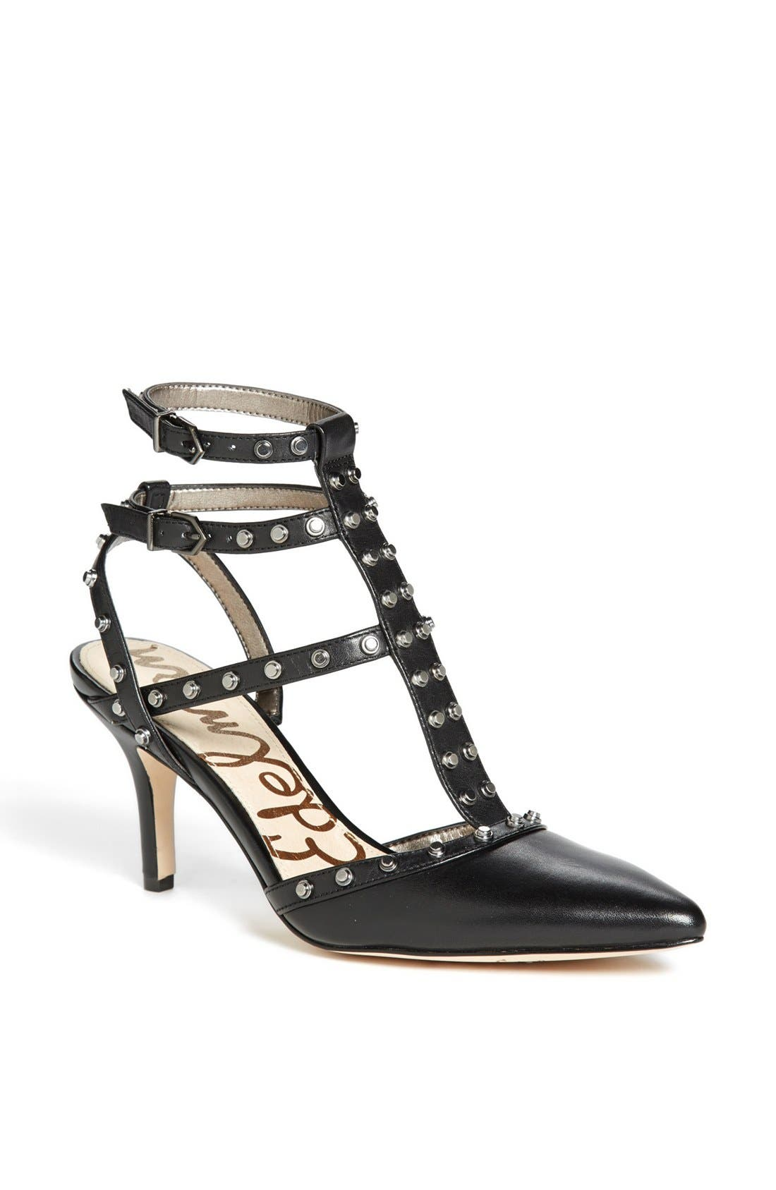 Alternate Image 1 Selected - Sam Edelman 'Ollie' T-Strap Pump