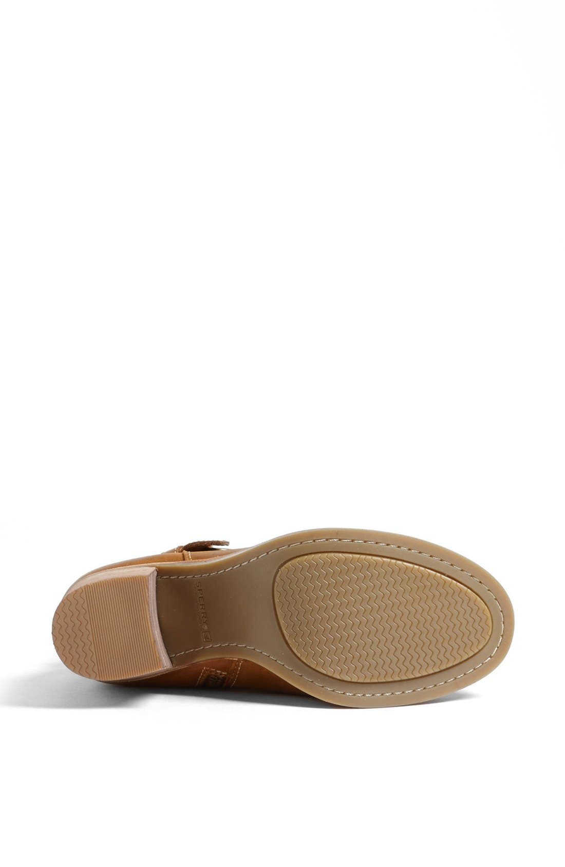Top-Sider<sup>®</sup> 'Chelton' Bootie,                             Alternate thumbnail 4, color,                             Tan