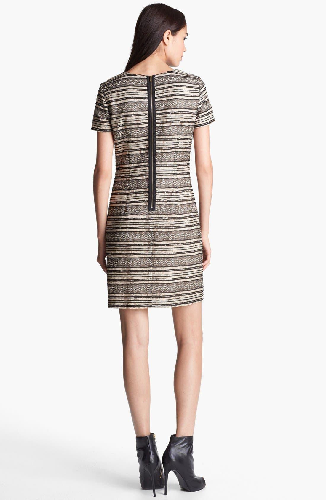 Alternate Image 2  - Ivy & Blu Lace T-Shirt Dress