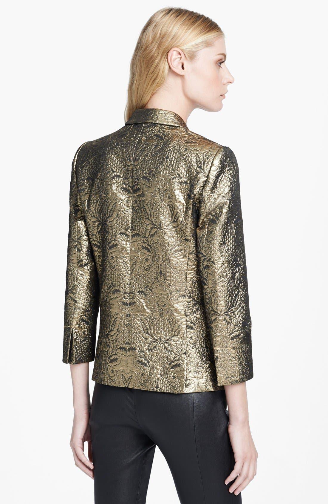 Alternate Image 2  - Zadig & Voltaire 'Volta' Metallic Brocade Jacket