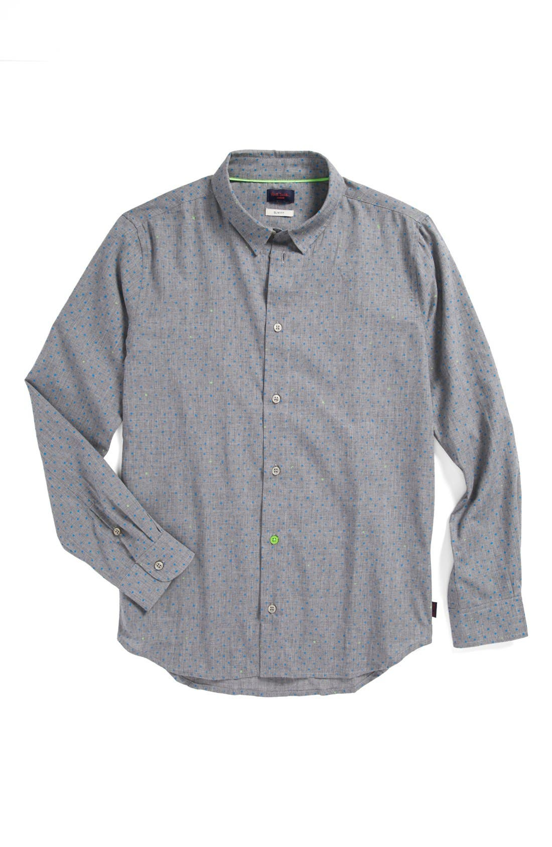 Alternate Image 1 Selected - Paul Smith Junior 'Esteban' Sport Shirt (Toddler Boys, Little Boys & Big Boys)