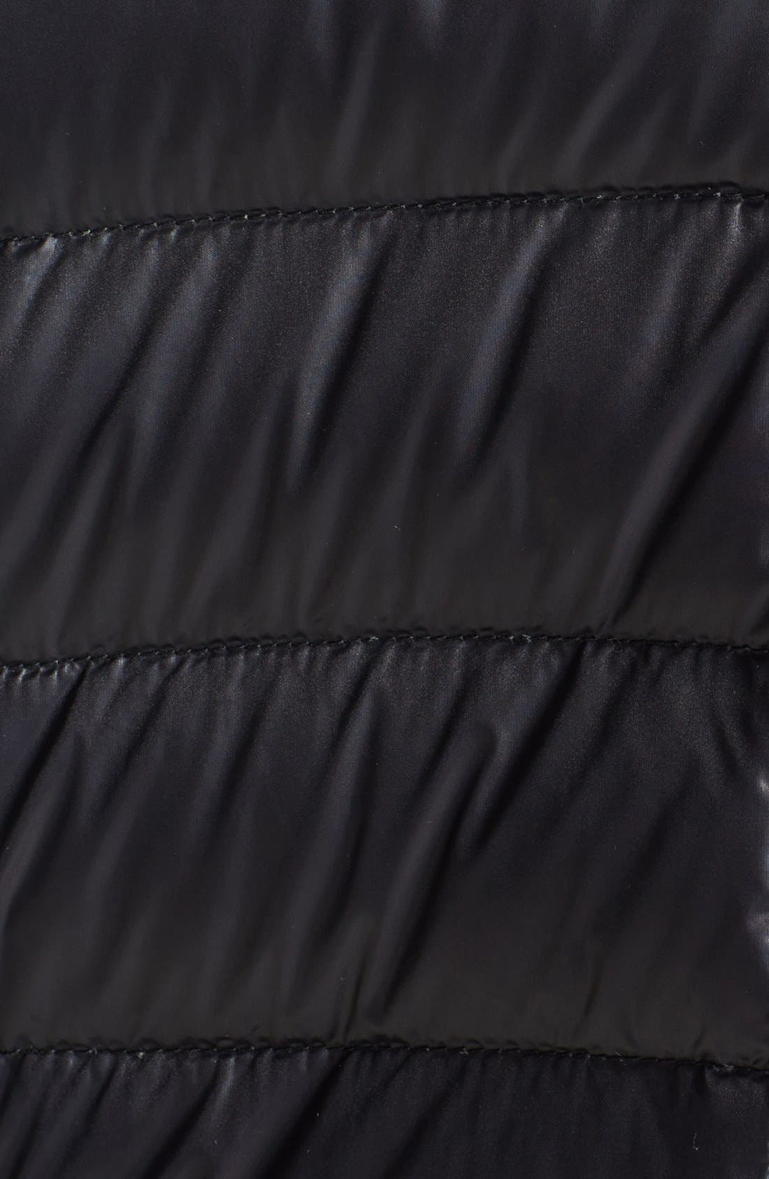 Alternate Image 3  - Bernardo Lace Front Goose Down Jacket