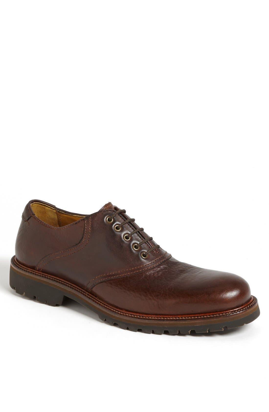 Alternate Image 1 Selected - Trask 'Garland' Saddle Shoe (Men) (Online Only)