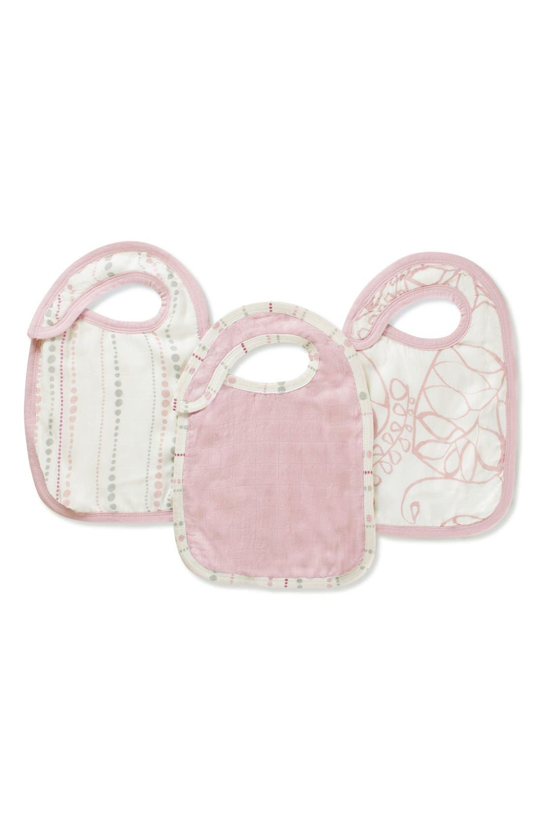 3-Pack Snap Bibs,                         Main,                         color, Tranquility