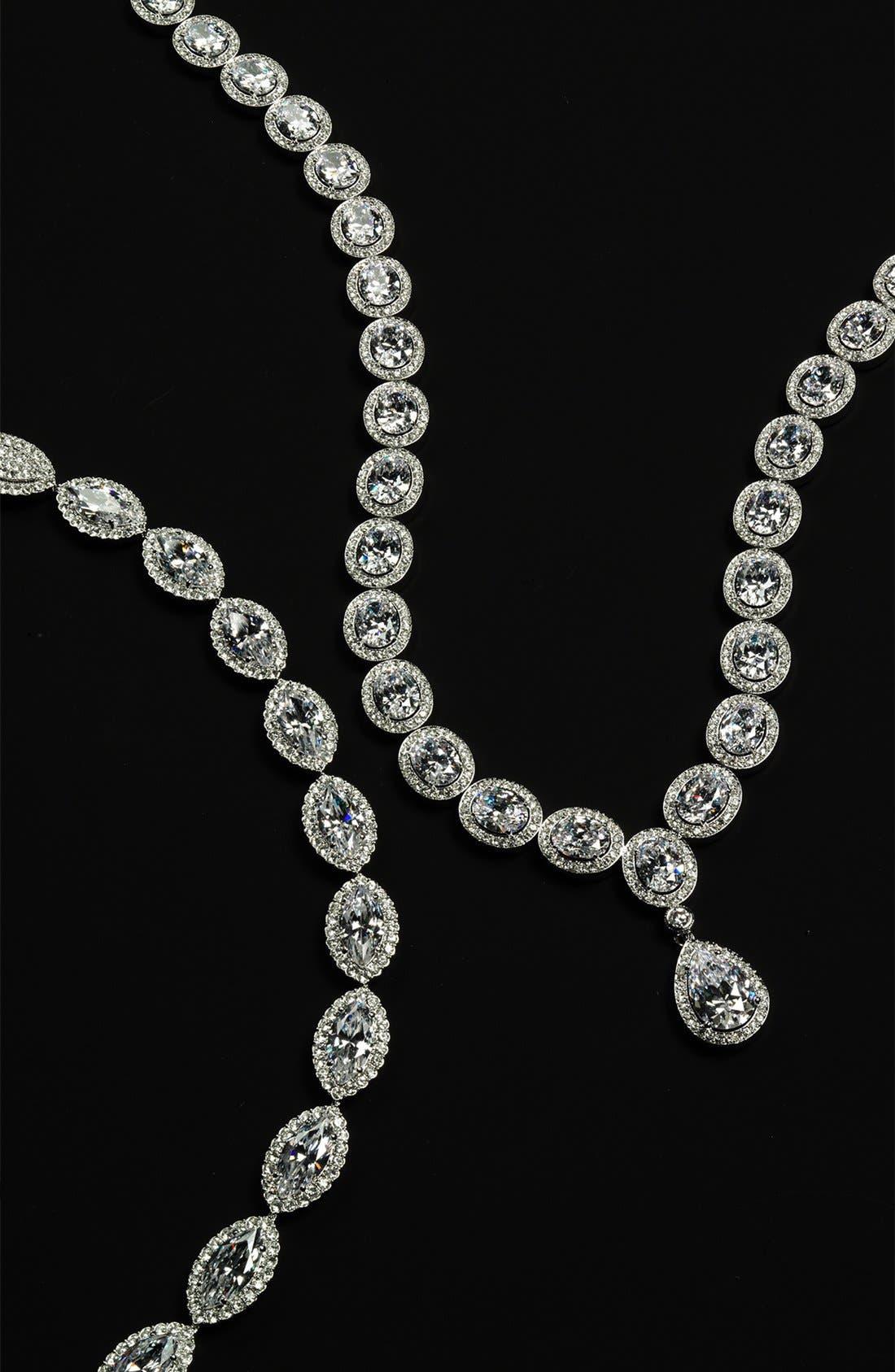 Alternate Image 3  - Nadri 'Marquise' Cubic Zirconia Necklace