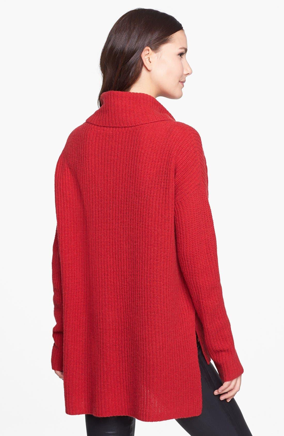Alternate Image 2  - Eileen Fisher Merino & Yak Wool Turtleneck Sweater