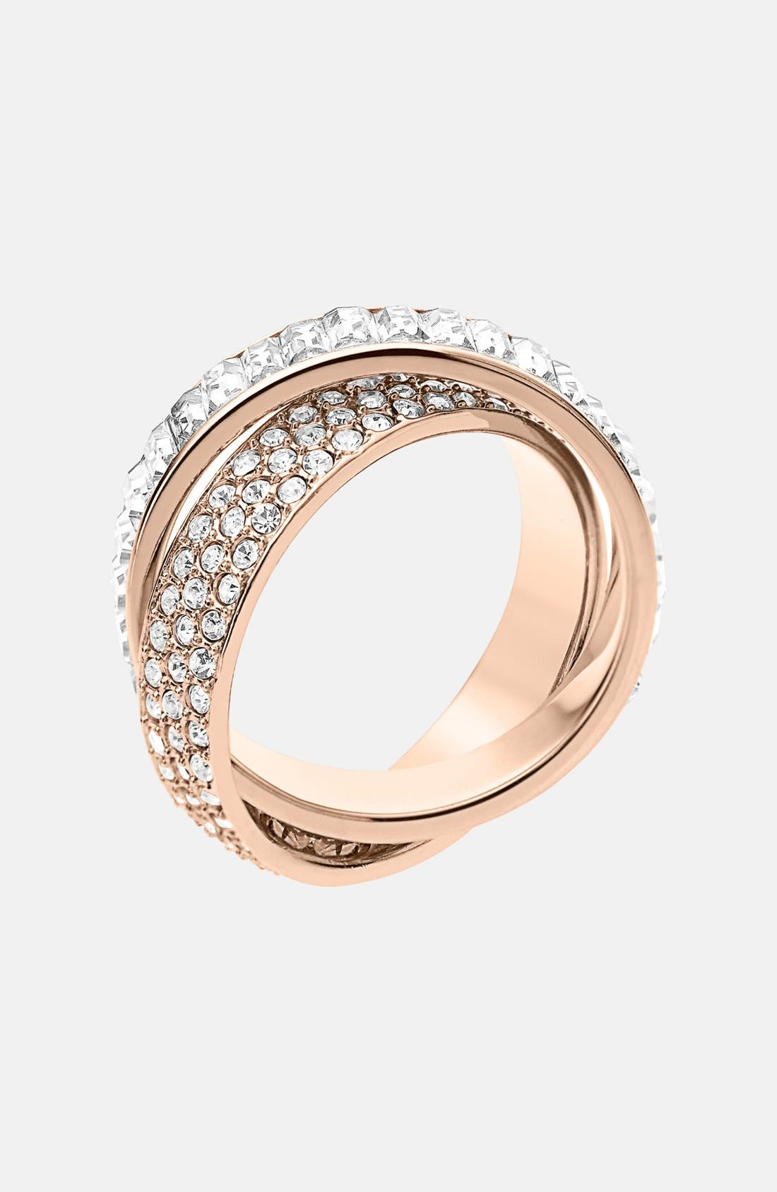 Alternate Image 1 Selected - Michael Kors 'Brilliance' Crystal Intertwined Ring