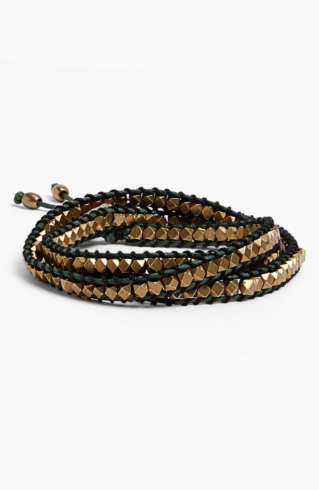 Alternate Image 1 Selected - Me to We Artisans 'Poa' Beaded Wrap Bracelet (Juniors)