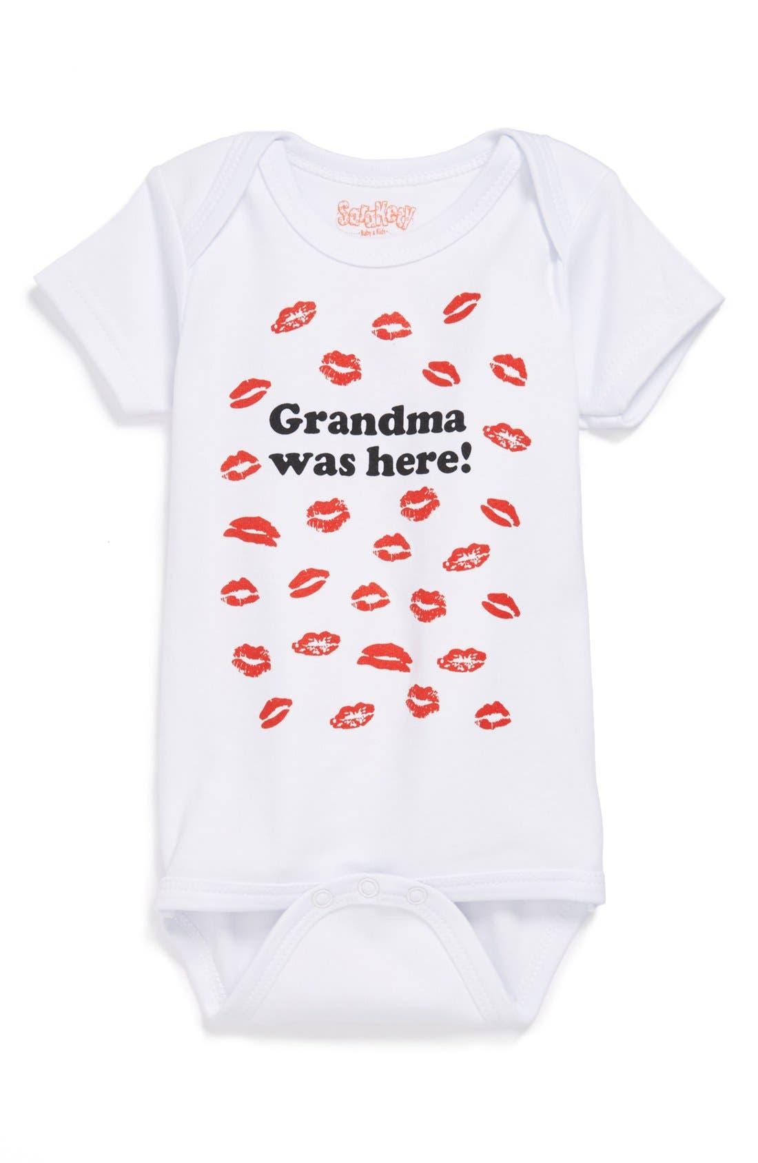 Sara Kety Baby & Kids 'Grandma Was Here' Bodysuit (Baby)