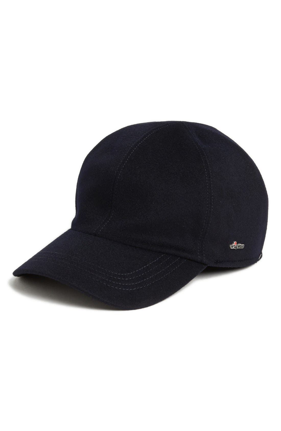 'Loro Piana Storm System' Earflap Baseball Cap,                             Main thumbnail 1, color,                             Navy