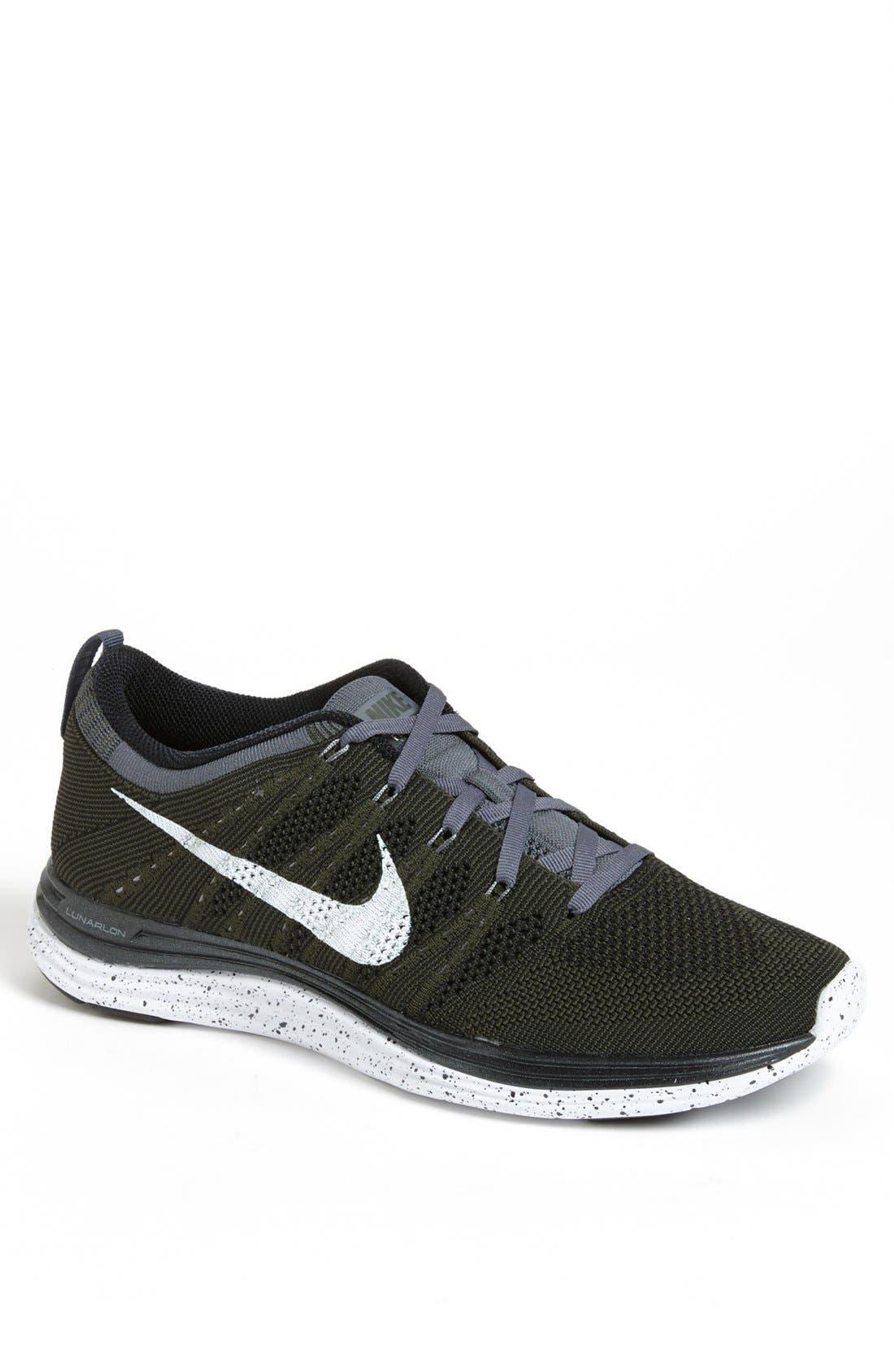 Main Image - Nike 'Flyknit Lunar1+' Running Shoe (Men)