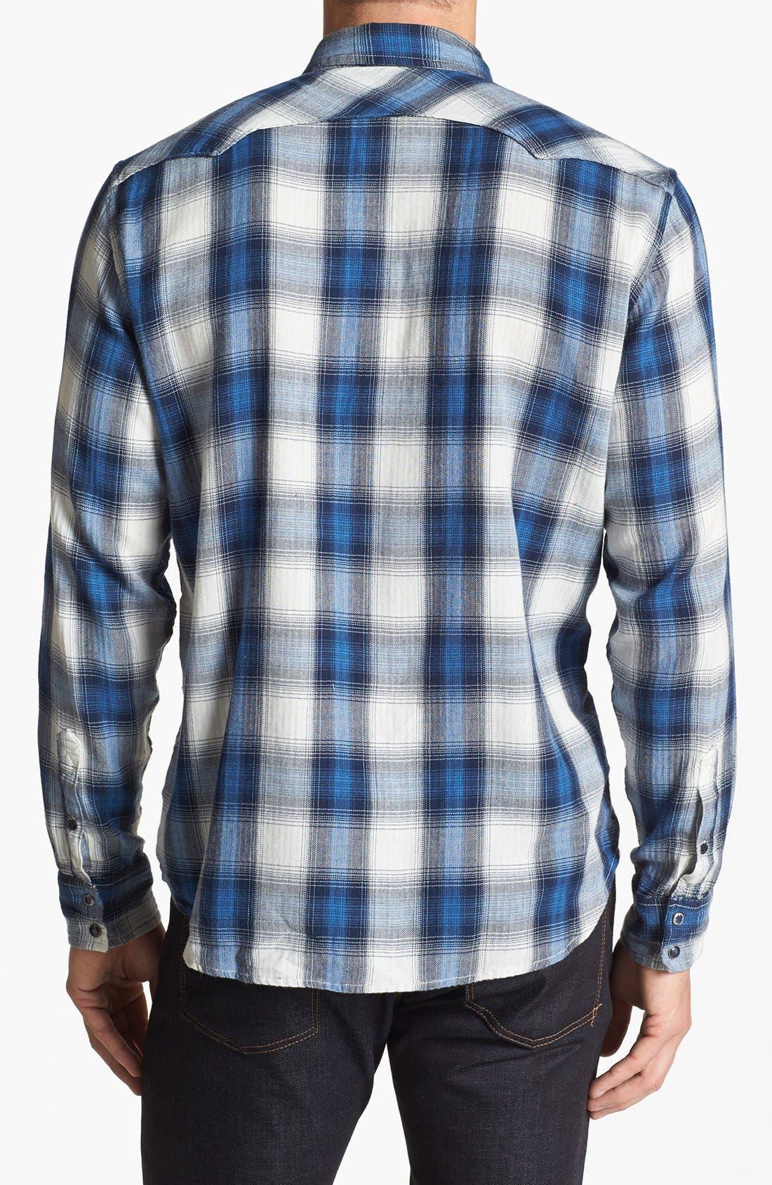 Alternate Image 2  - Lucky Brand 'Spearhead' Plaid Western Shirt