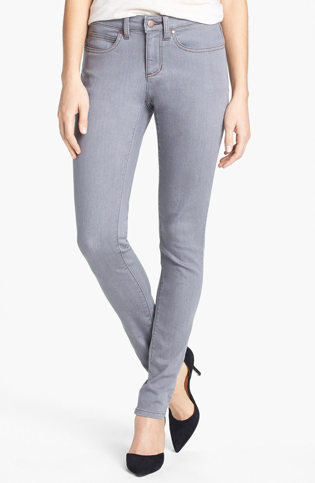 Alternate Image 1 Selected - Eileen Fisher Skinny Jeans (Regular & Petite)