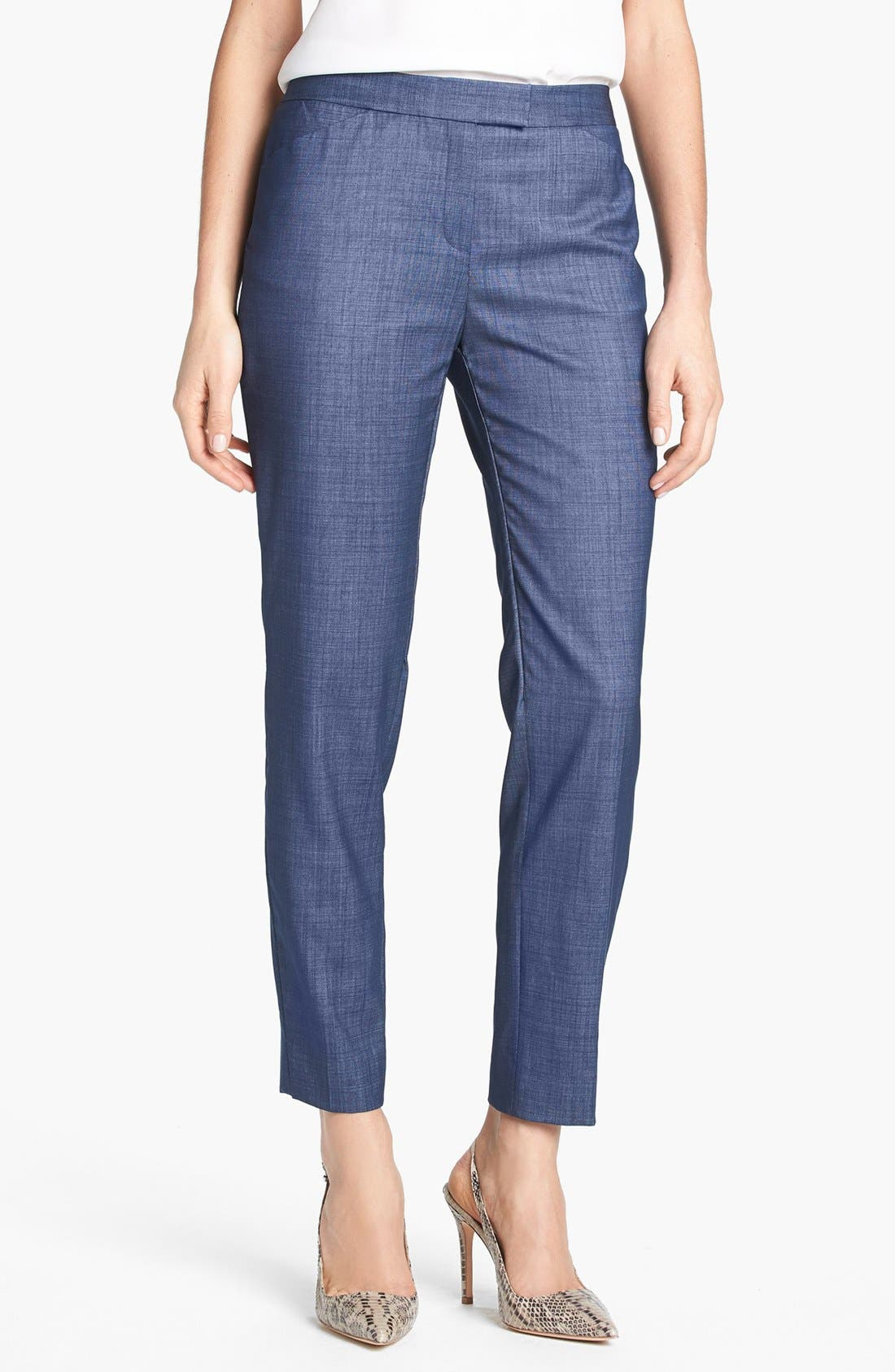 Alternate Image 1 Selected - Lafayette 148 New York 'Irving - Regent Suiting' Pants