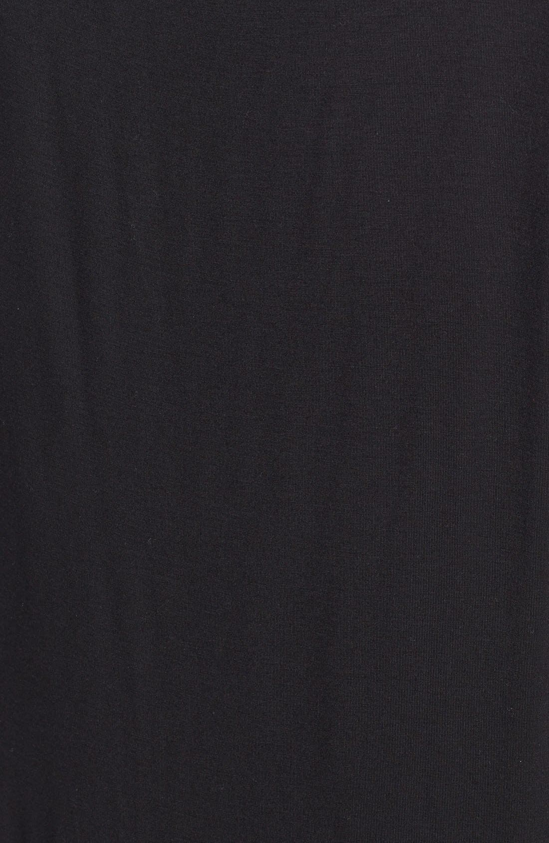 Alternate Image 3  - Bailey 44 'Black Hole' Jersey & Leather Dress