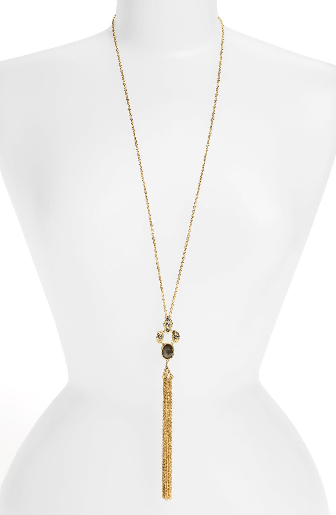 Alternate Image 1 Selected - Alexis Bittar 'Elements' Long Tassel Pendant Necklace